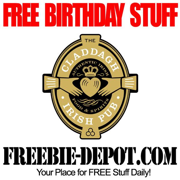 FREE Irish Birthday Meals