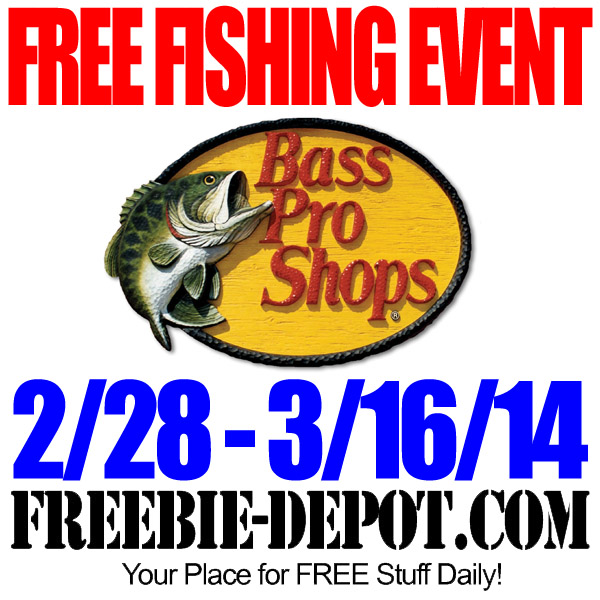 Free bass pro fishing event freebie depot for Bass pro spring fishing classic 2017