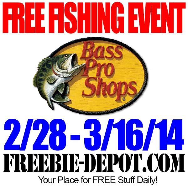 FREE Bass Pro Fishing Event