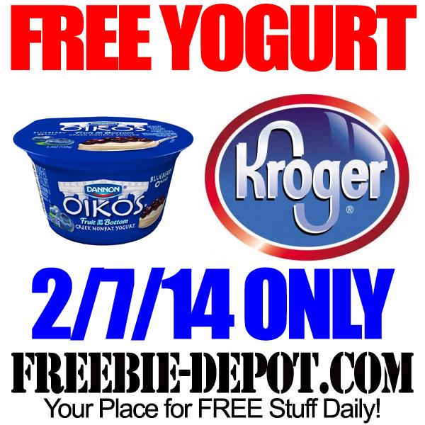 Free Greek Yogurt Kroger