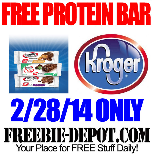 FREE Protein Bar from Kroger