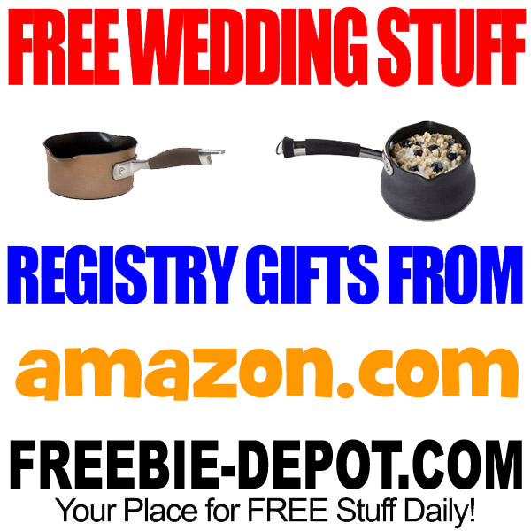 WEDDING REGISTRIES THAT GIVE YOU FREE STUFF