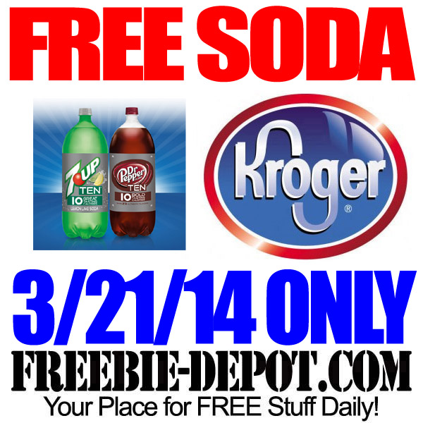FREE Soda at Kroger