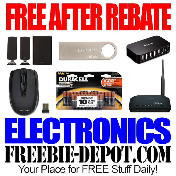 FREE After Rebate Electronics