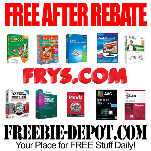 Free After Rebate Frys Software