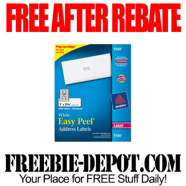 FREE After Rebate Mailing Labels