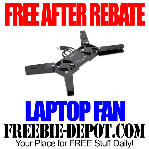 FREE After Mail In Rebate Laptop Fan
