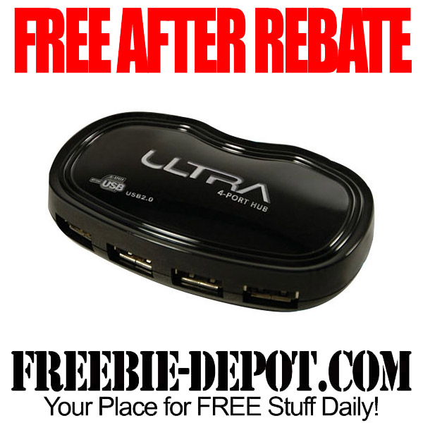 Free After Rebate USB Hub