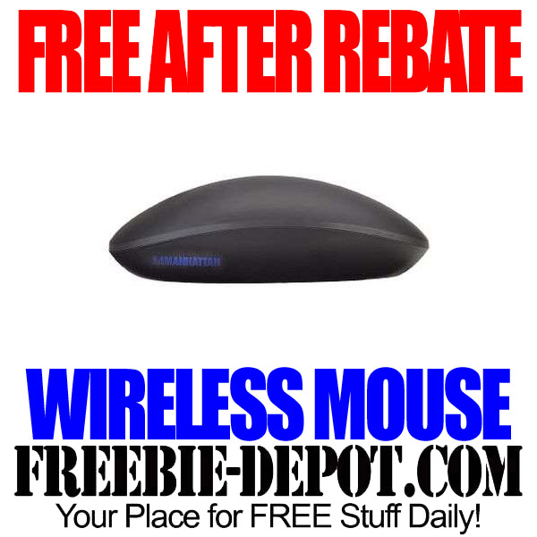 Free After Rebate Wireless Mouse