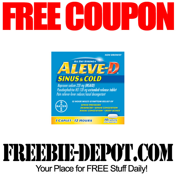 Free high value aleve coupon freebie depot for Coupon gratis