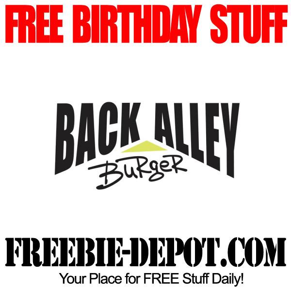 FREE Birthday Burger