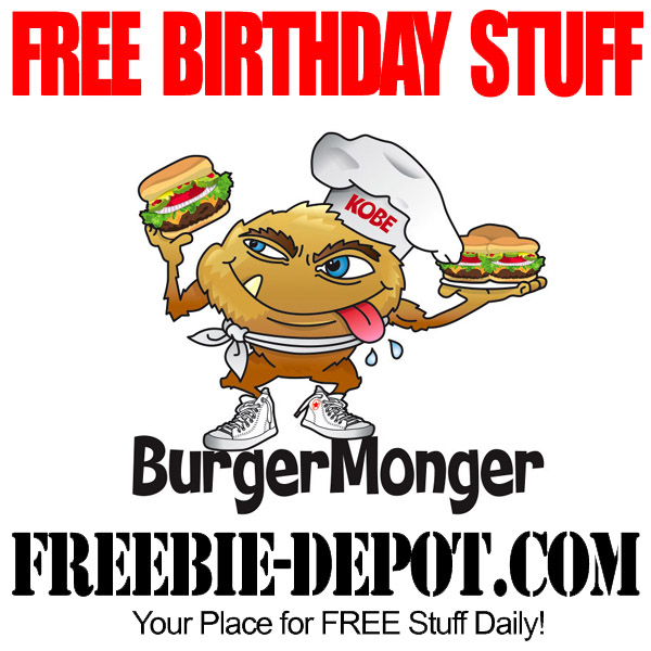 Free Birthday BurgerMonger