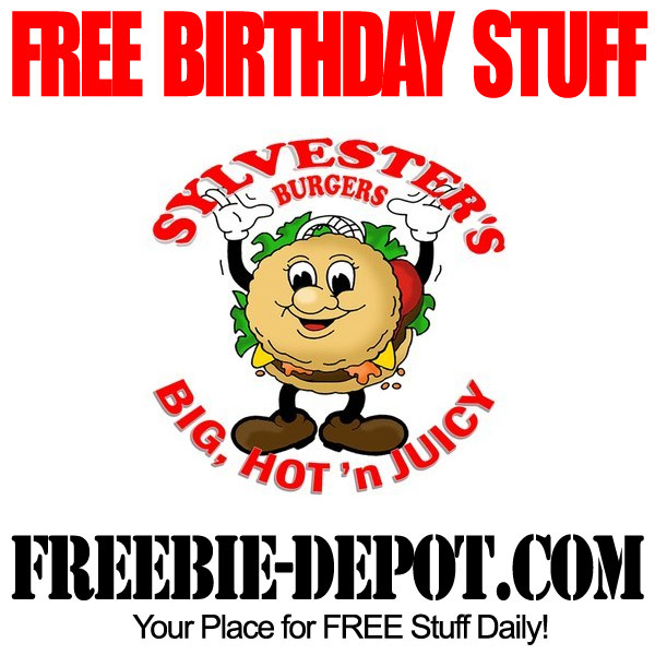 Free Birthday Burger Sylvesters