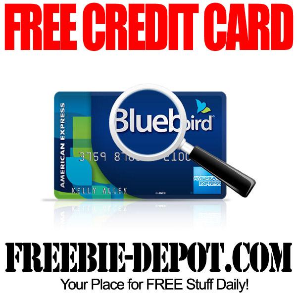 FREE Bluebird AMEX Card