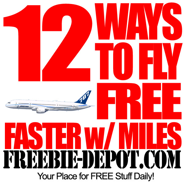 Free Frequent Flyer Miles