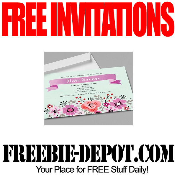 FREE Invitations and Announcements