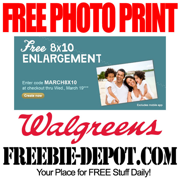 Free Photo Enlargement