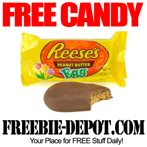 Free Reeses Peanut Butter Egg