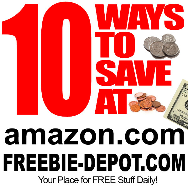 10 FREE Ways to Save at Amazon.com