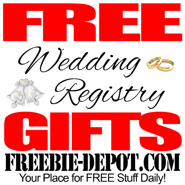Free Wedding Registry Gifts