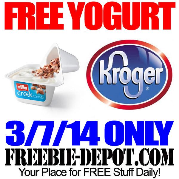 Free Yogurt Corner Kroger