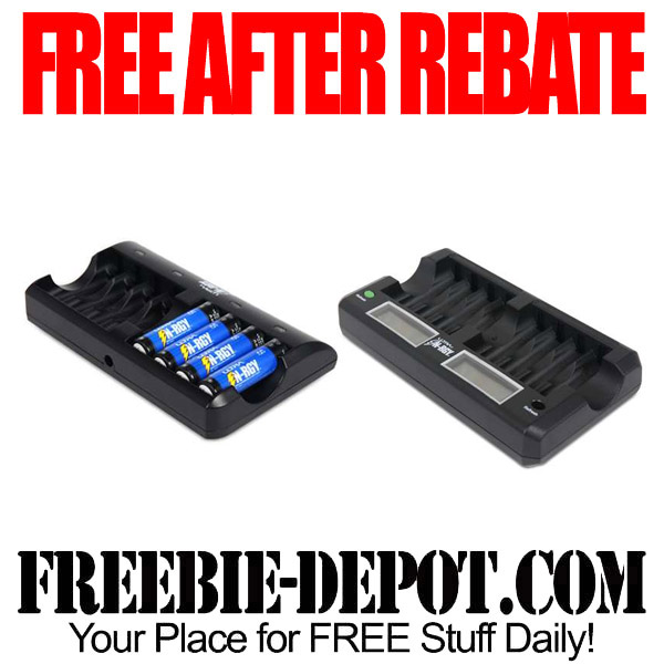 Free After Rebate Chargers for Batteries
