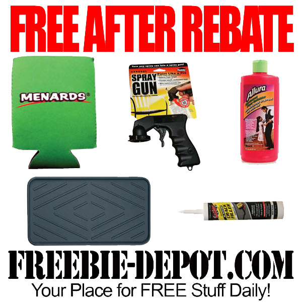free after rebate 5 items at menards. Black Bedroom Furniture Sets. Home Design Ideas