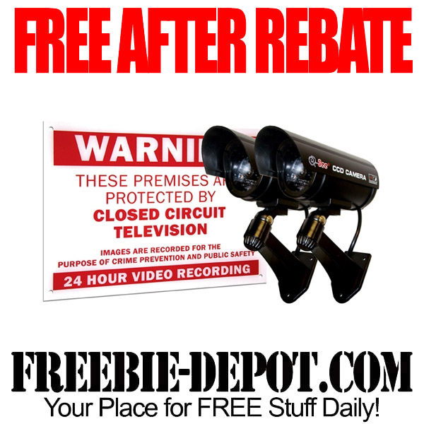 Free After Rebate Decoy Security Cameras