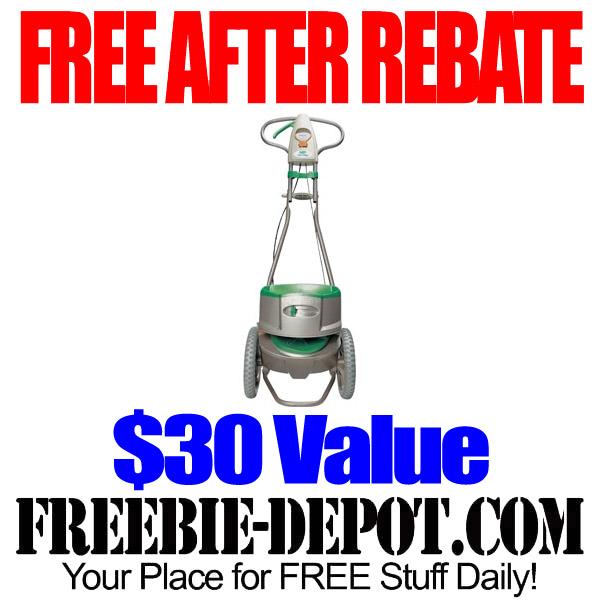 Free After Rebate Fertilizer Spreader