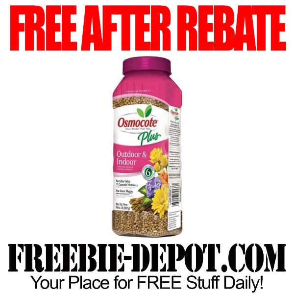 Free After Rebate Food for Plants