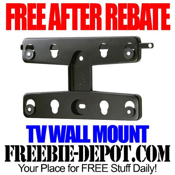 Free After Rebate TV Wall Mount