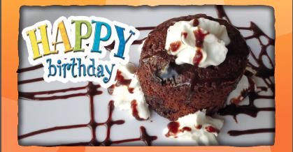 Free Birthday Bundt