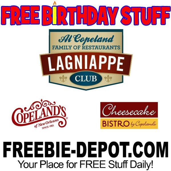FREE BIRTHDAY STUFF – Cheesecake Bistro
