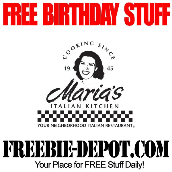 Free Birthday Italian Kitchen