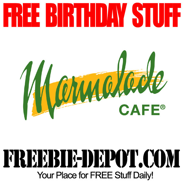 Free Birthday at Marmalade Cafe