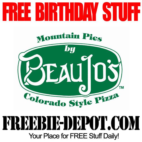 Absolutely FREE Birthday Dessert
