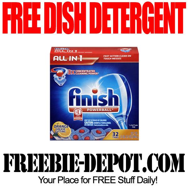 Free Finish Dish Detergent