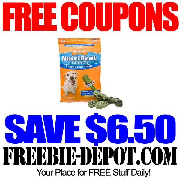 Free Coupons for Dog Chews