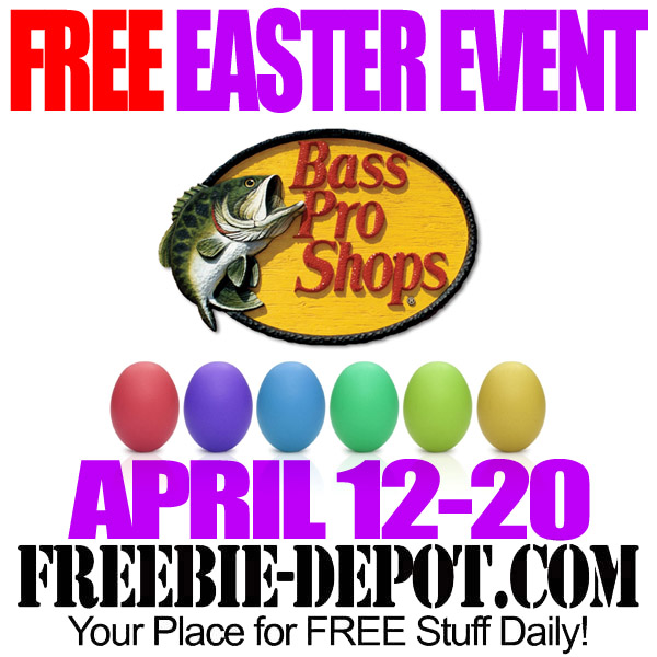 FREE Easter at Bass Pro