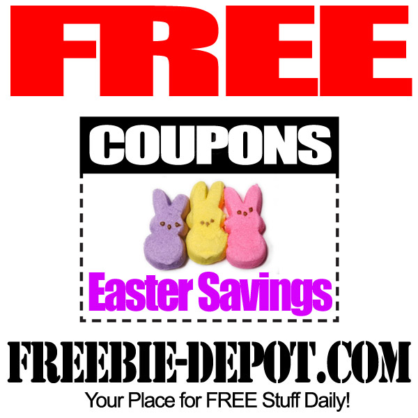 FREE Easter Coupons