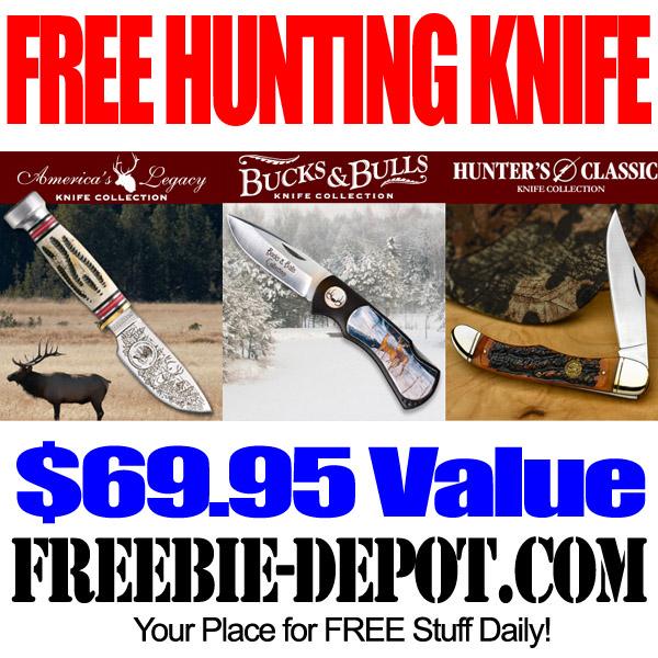 Free Hunting Knife