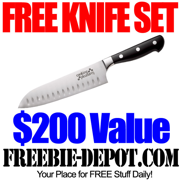 Free $200 Knife Set