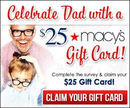 Free Macys  Fathers Day Gift Card