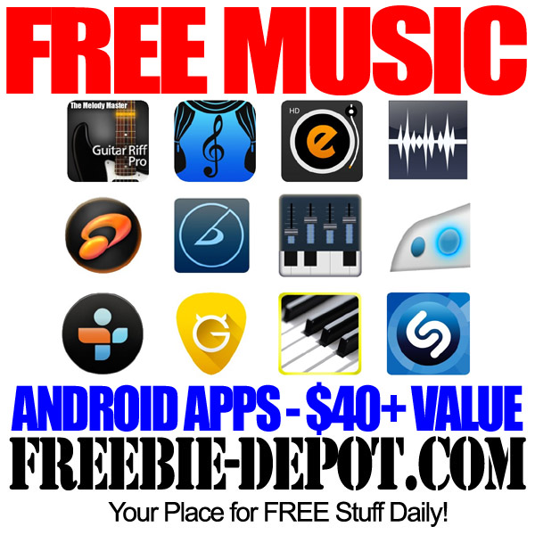 FREE Music – Android Apps – $40+ Value