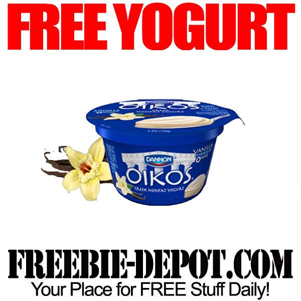 Free Dannon Oikos Greek Yogurt