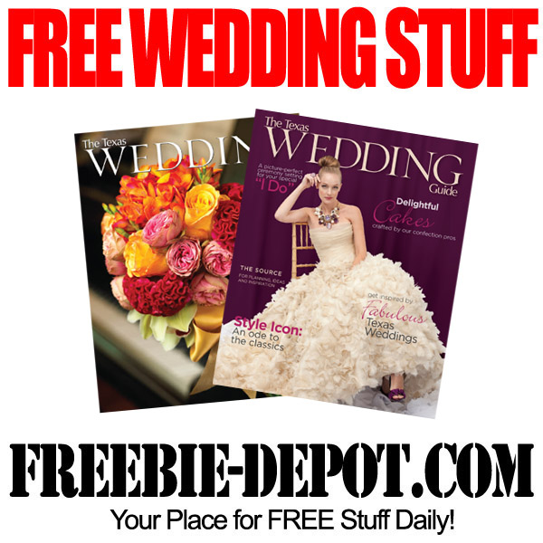 Free Wedding Stuff.Free Wedding Stuff Texas Wedding Guide Freebie Depot