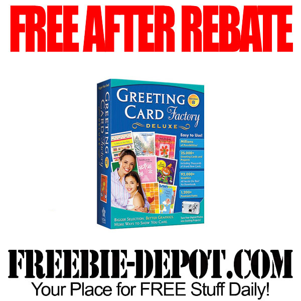Free After Rebate Card Software