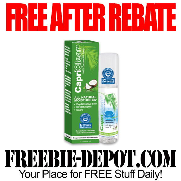 Free After Rebate Coconut Oil