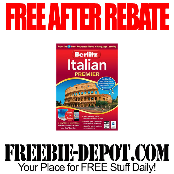 Free-After-Rebate-Italian-Software