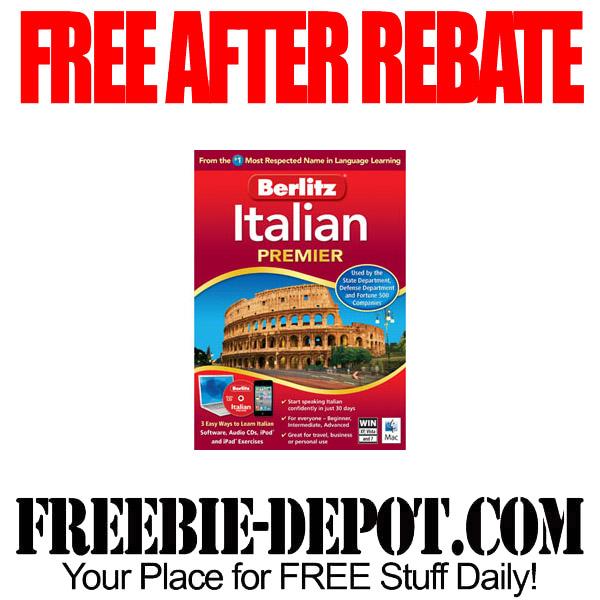 Free-After-Rebate-Italian-Software
